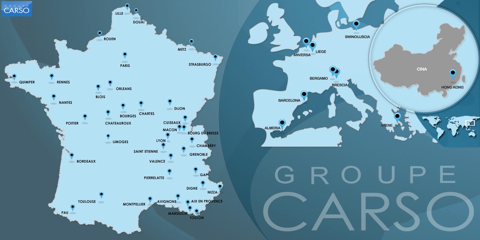 I nostri impianti Gruppo CARSO
